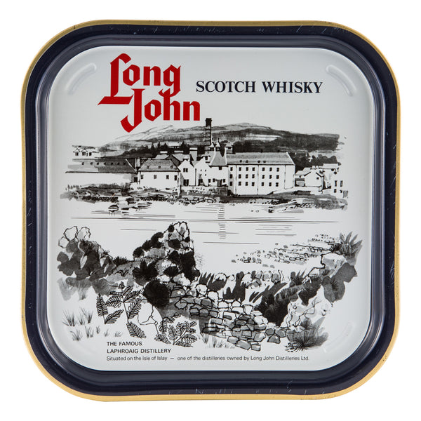 Laphroaig Distillery/Long John Serving Tray