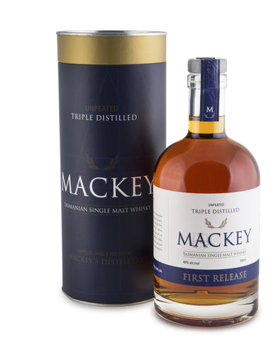 Mackey First Release Tasmanian Single Malt Whisky - Historic
