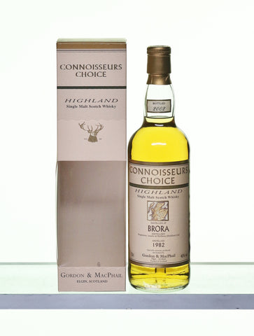 Brora 1982 Single Highland Malt by Connoisseur