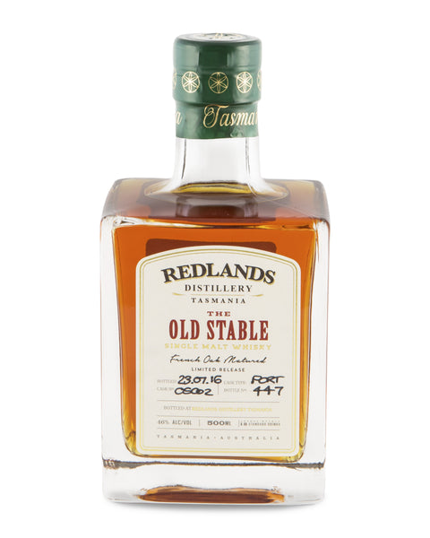 Redlands The Old Stable Tasmanian Single Malt Whisky (Sullivans Cove) - Historic