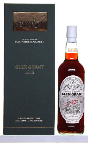 Glen Grant 1958 52 Years Old by Gordon and Macphail