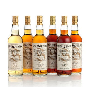 Springbank Complete Millenium Collection (6 x 70cl) including 6 matching miniatures