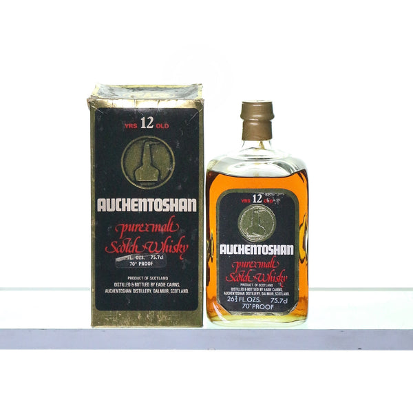 Auchentoshan 12 Years Old Single Lowland Pure Malt 1970s