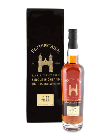 Fettercairn 40 Years Old