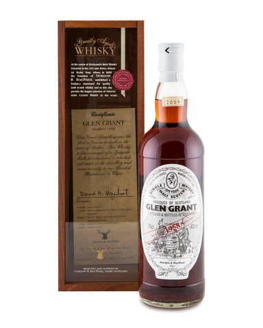Glen Grant 1958 50 Years Old by Gordon and MacPhail