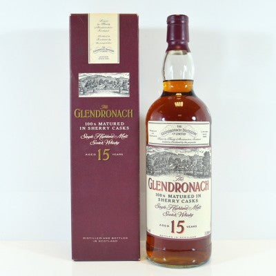 Glendronach 15 Years Old 1 Litre Old Style