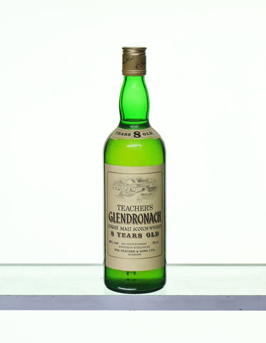 Glendronach 8 Years Old 1980s Teacher's Label