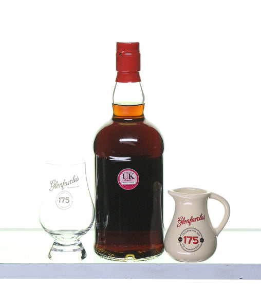 Glenfarclas Chairman's Reserve with Glencairn Glass and Jug