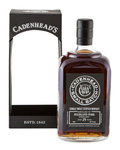 Highland Park 25 Years Old Cadenhead's Small Batch Cask Strength