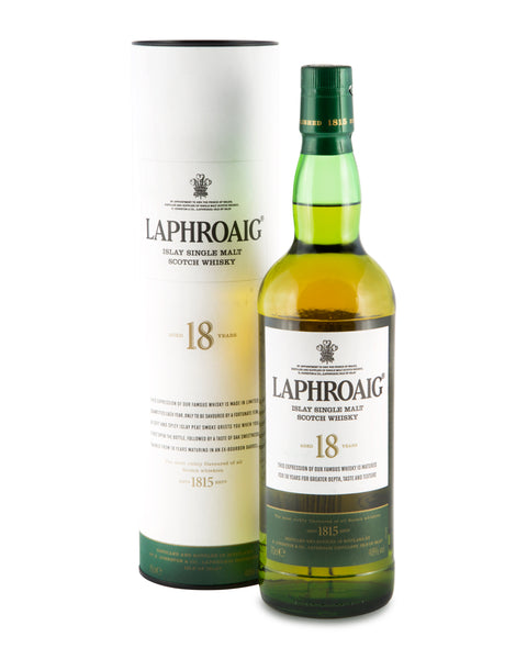Laphroaig Aged 18 Years Islay Single Malt Scotch Whisky