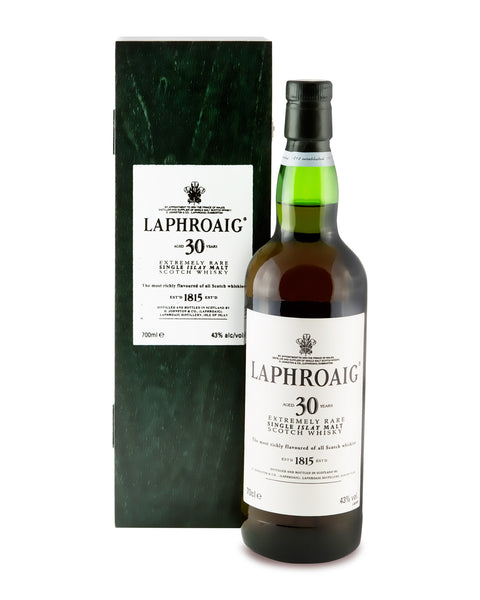 Laphroaig 30 Years Old Extremely Rare Single Islay Malt