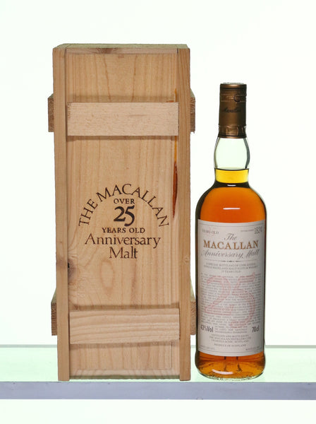 Macallan 1971 25 Years Old Anniversary Malt