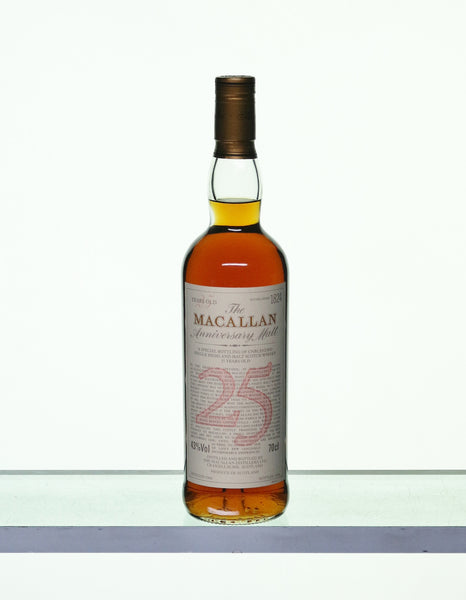 Macallan 1968 25 Years Old Anniversary Malt
