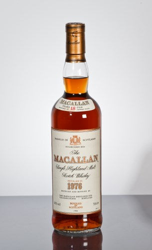 Macallan 1976 18 Years Old Single Highland Malt