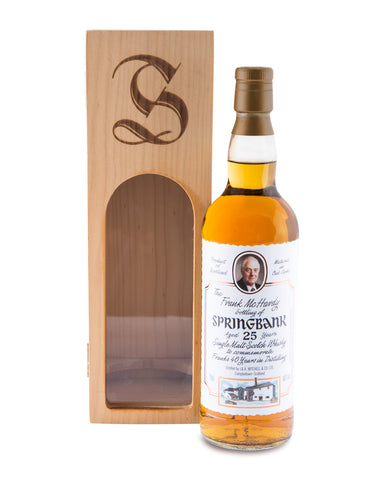 Springbank 25 Years Old Frank McHardy Single Malt