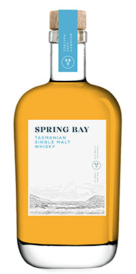 Spring Bay Bourbon Cask No 27 Matured Tasmanian Single Malt Whisky - Historic