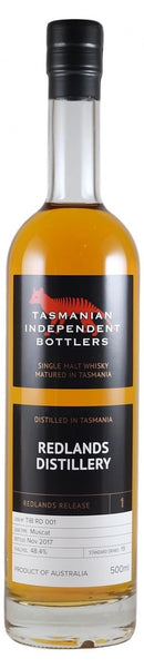 Redlands TIB Release Cask RD 001 Muscat Cask Single Malt Whisky - Historic
