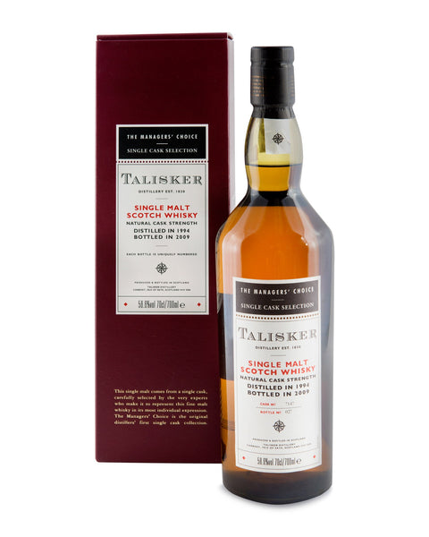 Talisker 1994 Managers' Choice in sherry cask