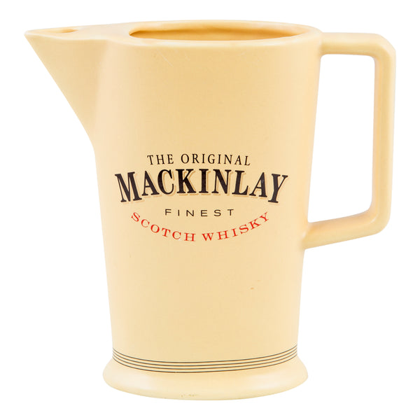 Mackinlay - The Original Finest Scotch Whisky water jug 1980s