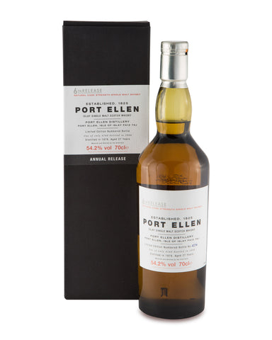 Port Ellen 1978 27 Year Old 6th Annual Release