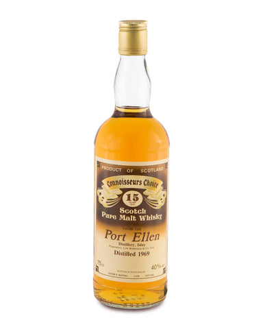 Port Ellen 1969 15 Year Old by Connoisseur's Choice