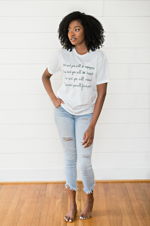 Ask Pray Believe Graphic Tee