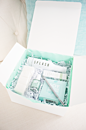 The 'Nail'd it! Perfect Gift' Mint At-Home Nail Spa Kit