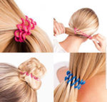 Traceless Hair Ties (5 Boxes of 3)