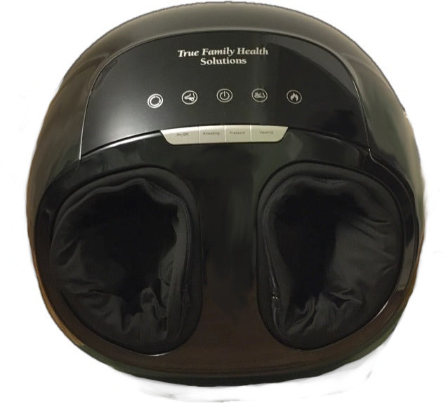 Black Commando Foot Massager with Heat and Air Compression