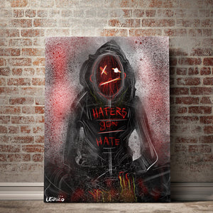 Haters Gon' Hate Canvas Set