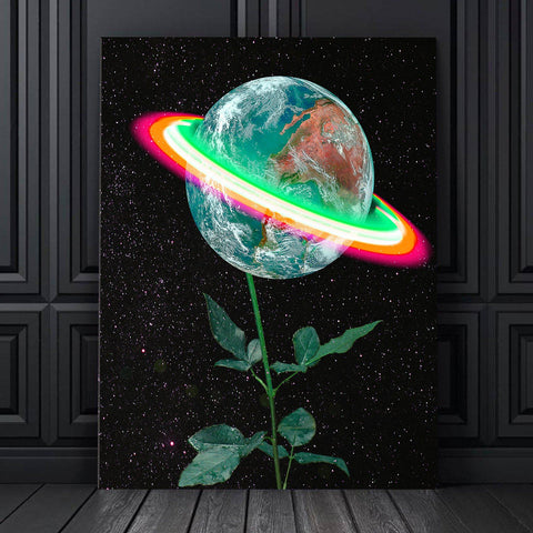 Blossoming World Canvas Set