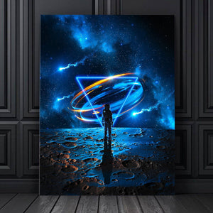 Blue Moon Canvas Set