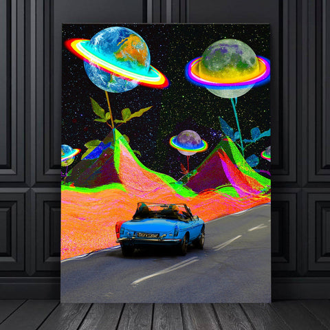 Planets of Roses Canvas Set