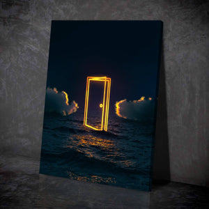 Ocean Door Canvas Set