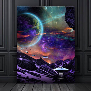 Beam Me Up Canvas Set