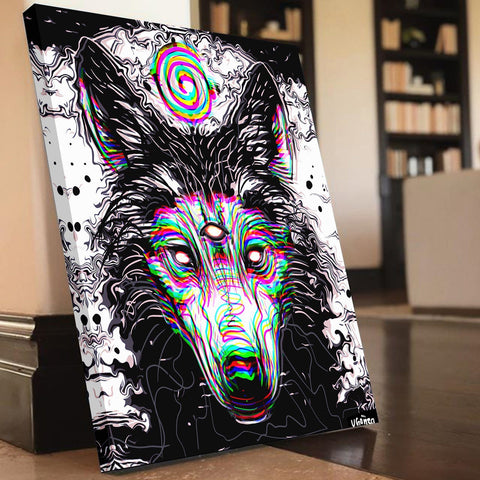 The Spirit Wolf Canvas Set
