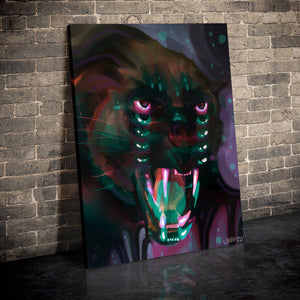 Eye of the Panther Canvas Set