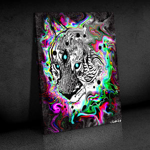 The Spirit Tiger Canvas Set