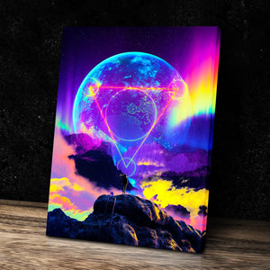 Neon Night Canvas Set