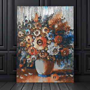 Eye of the Flower Canvas Set