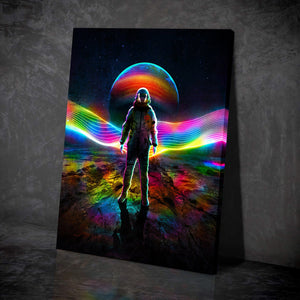 Brave New World Canvas Set