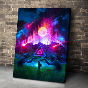Fountain of Life Canvas Set