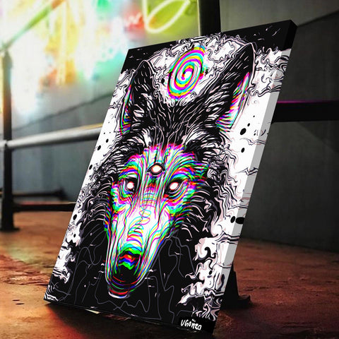 Reign Wolf Canvas Set