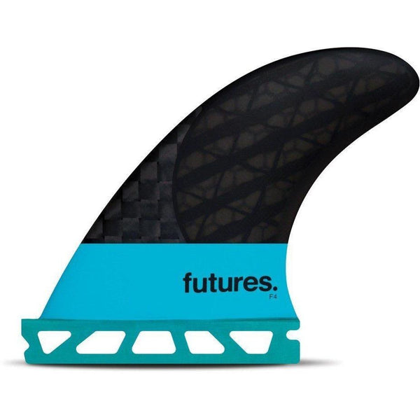 Futures F4 Blackstix Speed Generating Surf Fin For Wakesurf Fins
