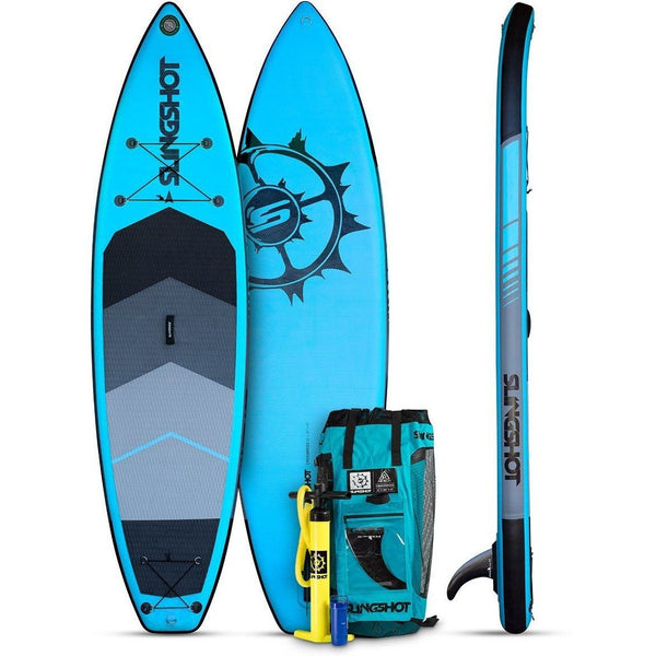 Slingshot Crossbreed Airtech Inflatable Paddleboard V3- 11 Blue Sup