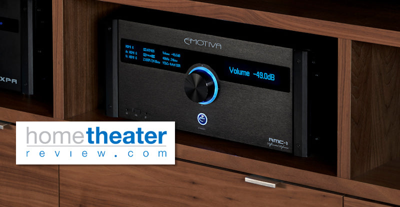 Hometheaterreview.com Reviews the RMC-1 9.1.6 Reference Cinema Processor