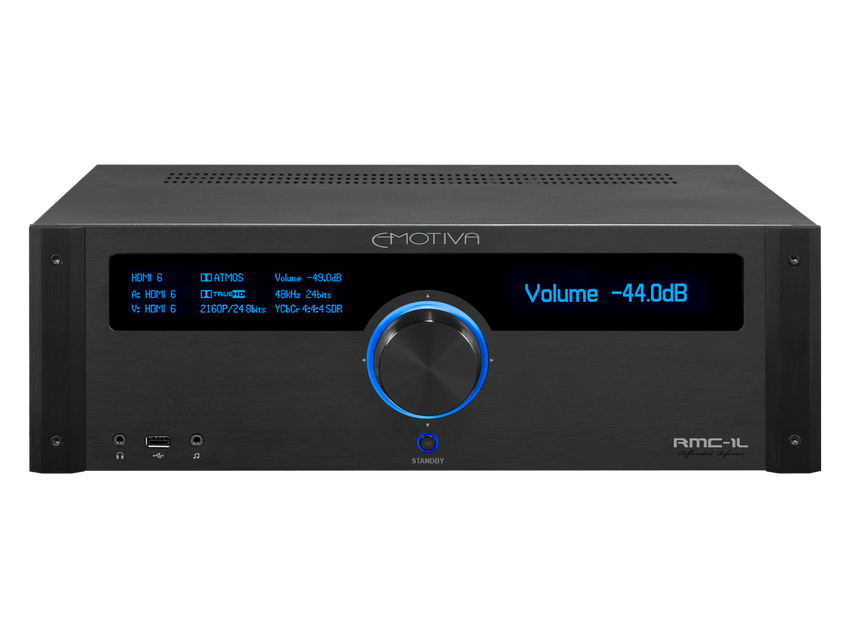 RMC-1L 16 Channel 9.1.6 Discrete Dolby Atmos & DTS:X Reference Cinema Processor