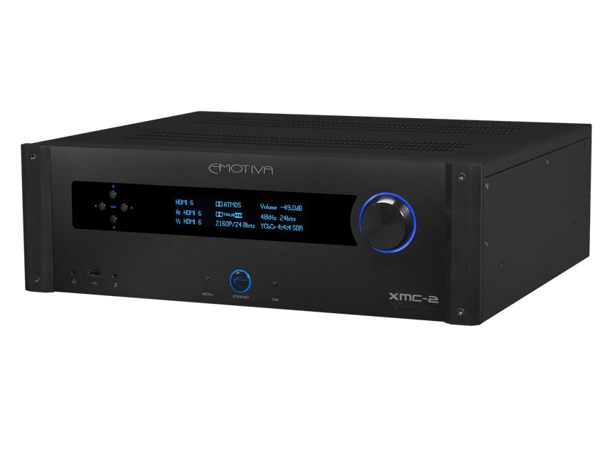 XMC-2 16 Channel 9.1.6 Discrete Dolby Atmos & DTS:X Cinema Processor
