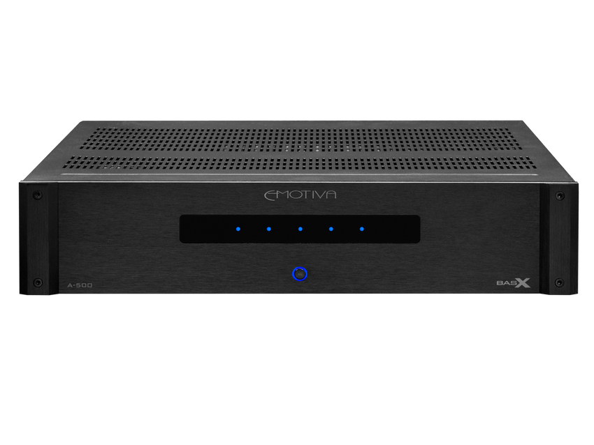 A-500 5 channel audiophile home theater power amplifier
