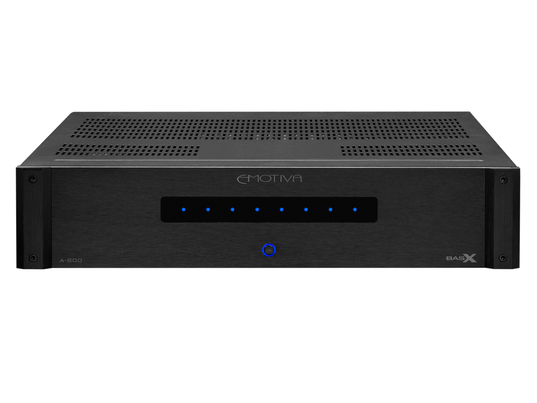 BasX A-800 Multi-Zone Power Amplifier